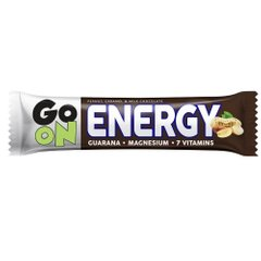 "Батончик ENERGY, ""snickers""+ guarana, GoOn Nutrition, 50 г - фото"