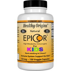 Эпикор для детей, EpiCor for Kids, Healthy Origins, 125 мг, 150 капсул - фото