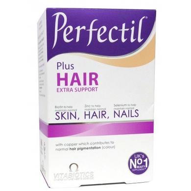 Перфектил Плюс, Роскошные волосы, Vitabiotics, 60 таб - фото
