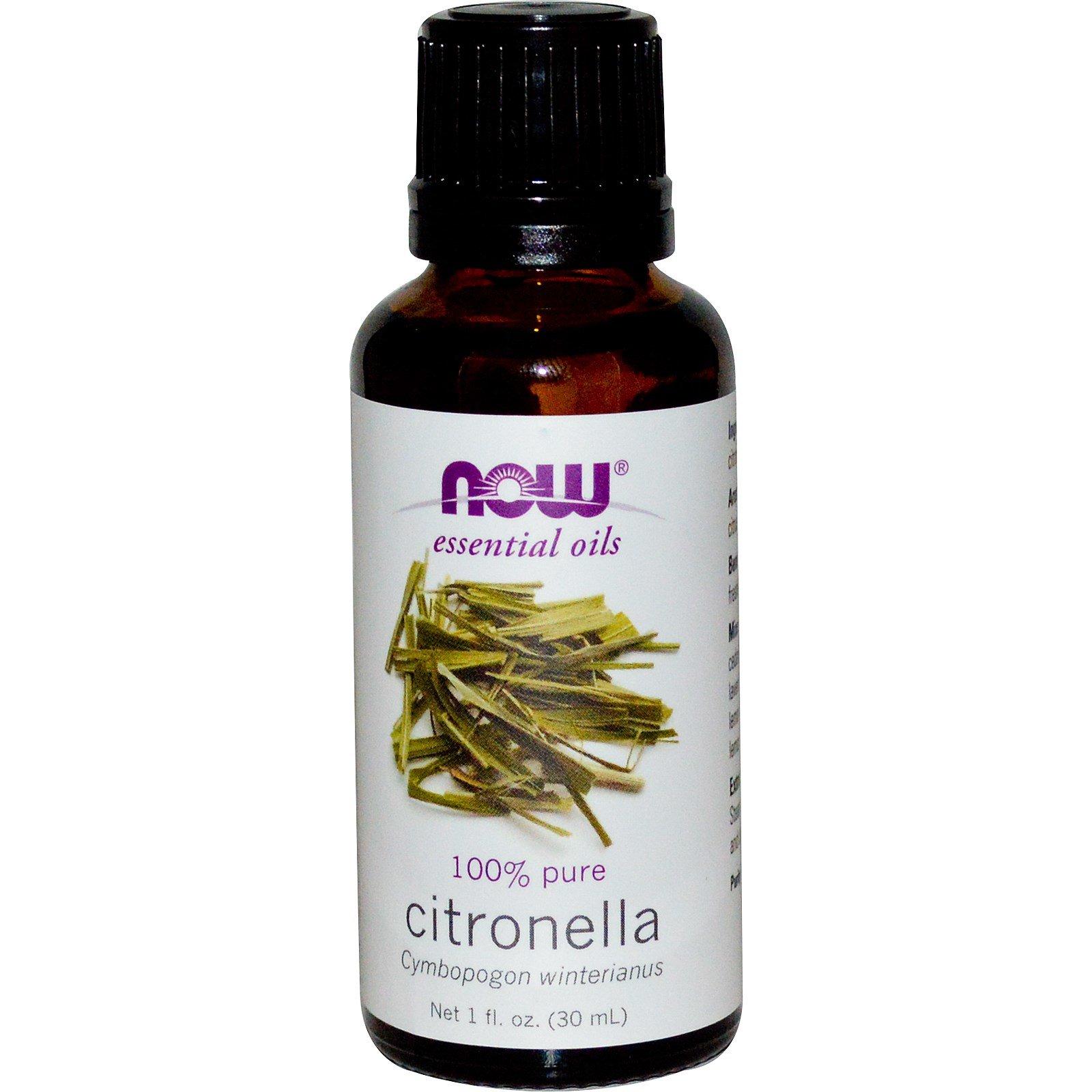 citronella grass oil as mosquito repellent