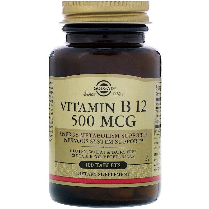 Body can store vitamin B-12