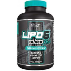 Жиросжигатель, Lipo-6 Black Hers Powerfull, Nutrex Research, 120 капсул - фото