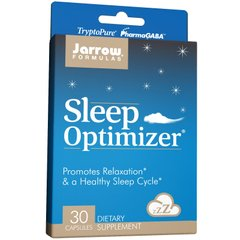 Улучшение сна Sleep Optimizer, Jarrow Formulas, 30 капсул - фото