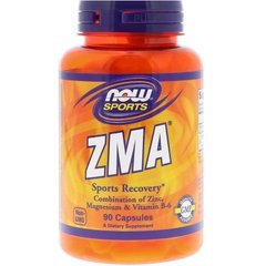 ZMA, Now Foods, 90 капсул - фото
