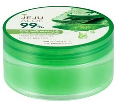 Универсальный гель для ухода за кожей лица и тела, 300 мл, Jeju Aloe Fresh, The Face Shop, Soothing - фото