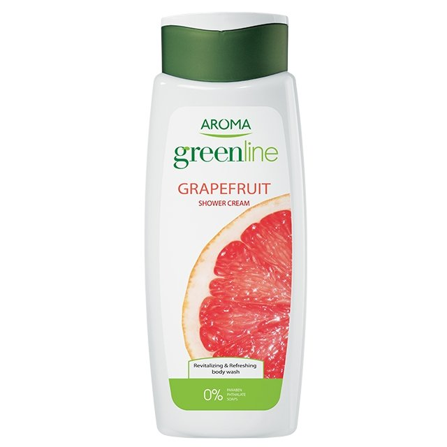 Крем-гель для душа Greenline Shower Cream Grapefruit, 400 мл
