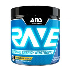 Помощь в тренировке Rave Extreme Energy Nootropic US, ANS Performance, ананас-манго 210 г - фото