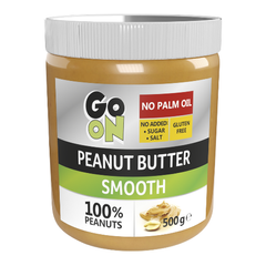 Арахисовая паста, Peanut butter smooth, GoOn Nutrition, 500 г (стекло) - фото