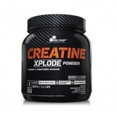 Креатин, Creatine XPLODE powder, ананас, Olimp, 500 г - фото