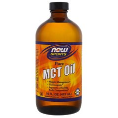 Масло МСТ, MCT Oil, Now Foods, Sports, 473 мл - фото