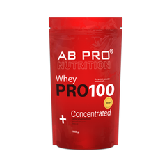 Протеин, PRO 100 Whey, Concentrated, Ab Pro, 1000 г - фото