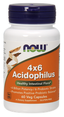 Пробиотики, Acidophilus, Now Foods, 60 капсул - фото
