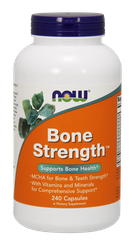Прочные кости, Bone Strength, Now Foods, 240 капсул - фото