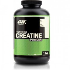 Креатин моногидрат, Creatine Powder, Optimum Nutrition, 600 г - фото