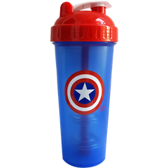 Шейкер Captain America, Perfect Shaker, 800 мл - фото